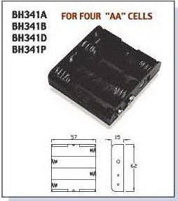 BAT/HOLD.AAx4  BH-341-1A, Comfortable Electronic