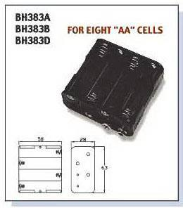BAT/HOLD.AAx8  BH-383A, Comfortable Electronic
