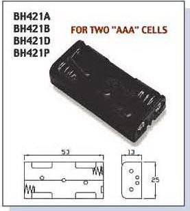 BAT/HOLD.AAAx2  BH-421A, Comfortable Electronic