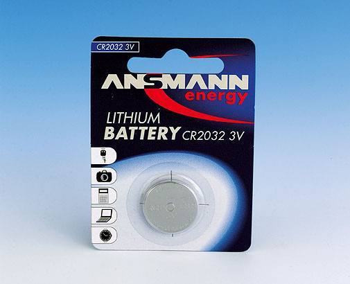 BAT CR2032 BL1, Ansmann