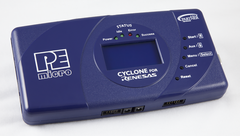 CYCLONE_RENESAS, P&E MICROCOMPUTER SYSTEMS