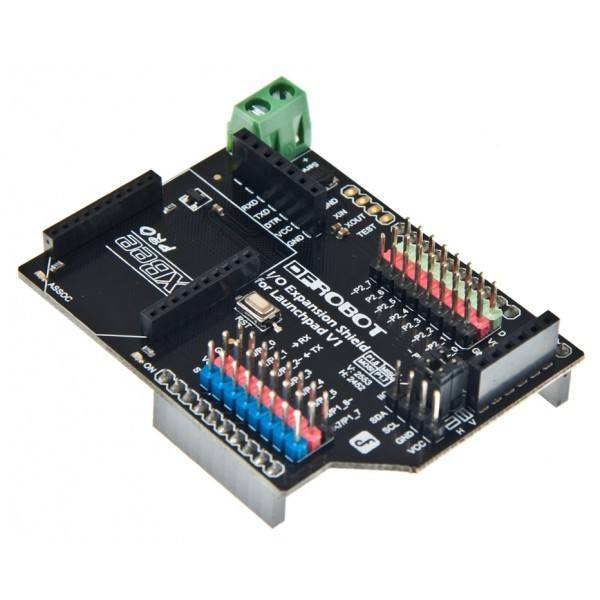 IO Expansion Shield for Launchpad MSP-EXP430G2, DFRobot