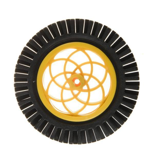 Rubber Wheel [Compatible with Servo & Motor], DFRobot