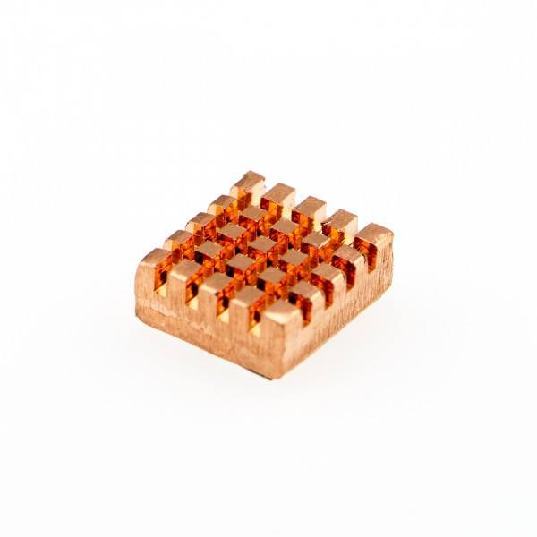 Self-adhesive Pure Copper Heatsink For Raspberry Pi, DFRobot