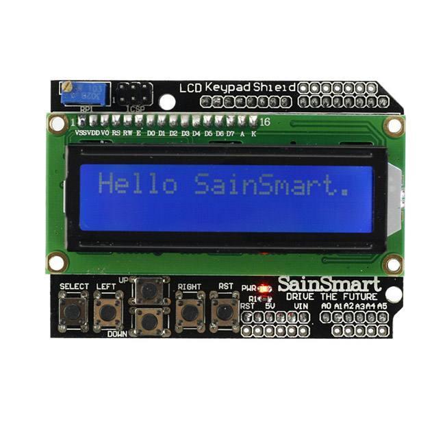 Arduino Shield List: DFRobot LCD Shield