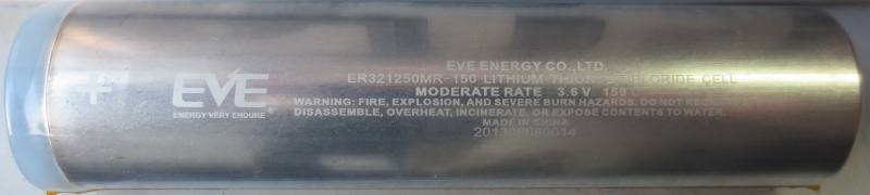 ER321250MR-150, EVE Energy Co., Ltd