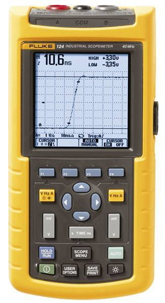 FLUKE 124, Fluke Precision Measurement Ltd