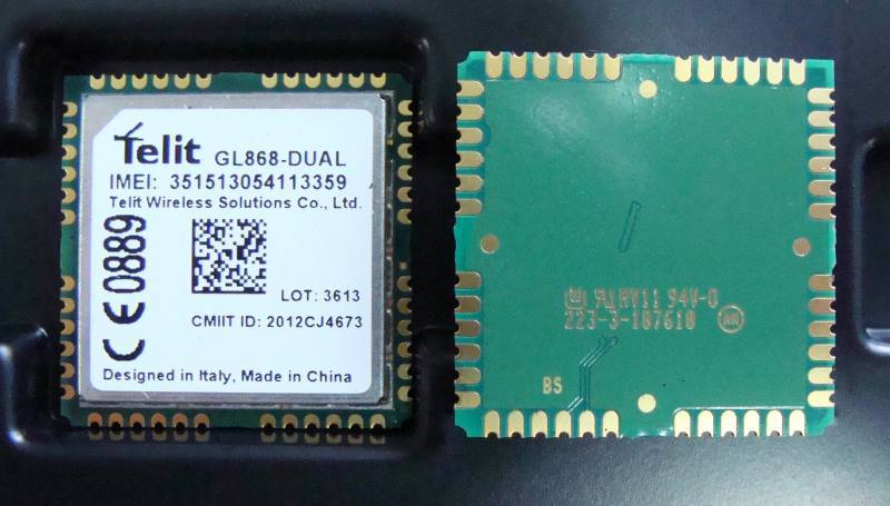 GL868-DUAL, Telit Communications Plc.