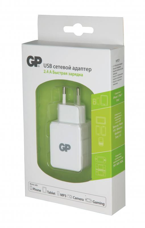 ADAPTER GPHP21W BL1, Gold Peak Batteries International Ltd.