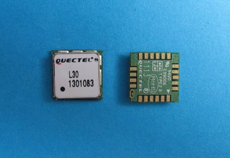 L30 [SIRFstarIV/ 9.0x9.0x1.6mm], Quectel Wireless Solutions Co., Ltd.