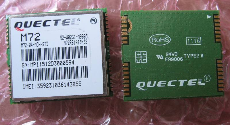 M72 [GPRS/SMS], Quectel Wireless Solutions Co., Ltd.