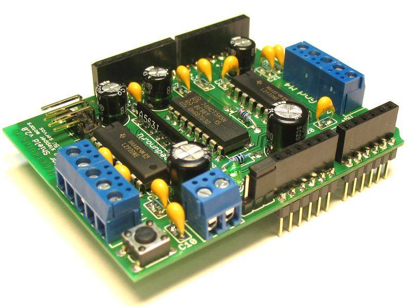 Motor Shield v2, Freeduino