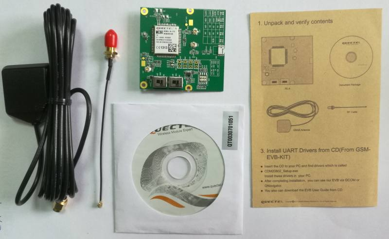 MC60-TE-A Kit, Quectel Wireless Solutions Co., Ltd.