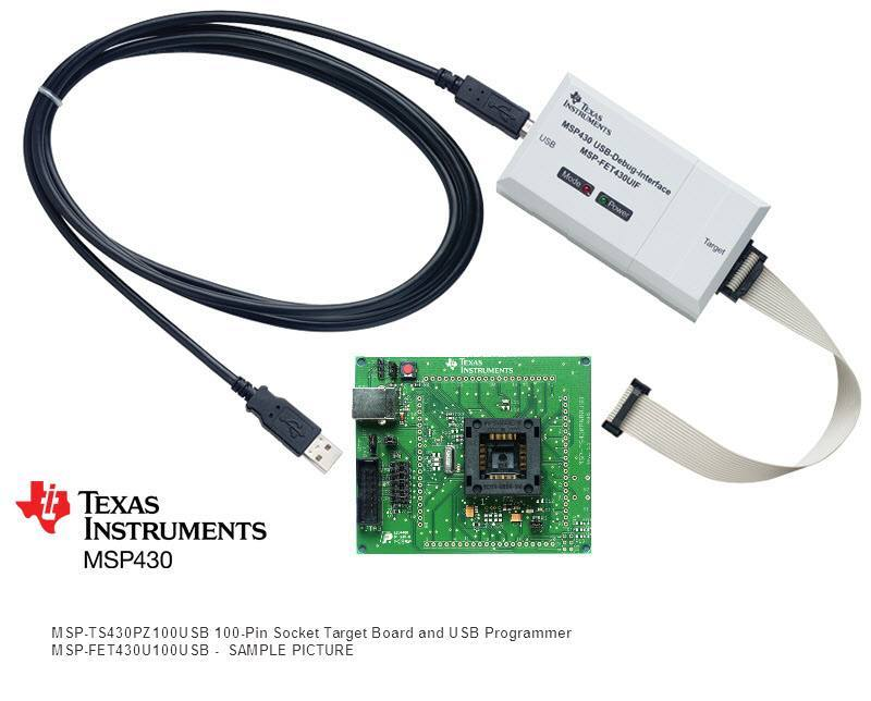MSP-FET430U100USB, Texas Instruments