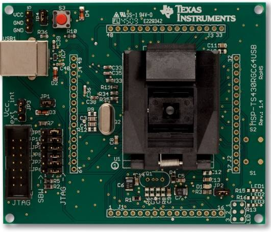 MSP-TS430RGC64USB, Texas Instruments