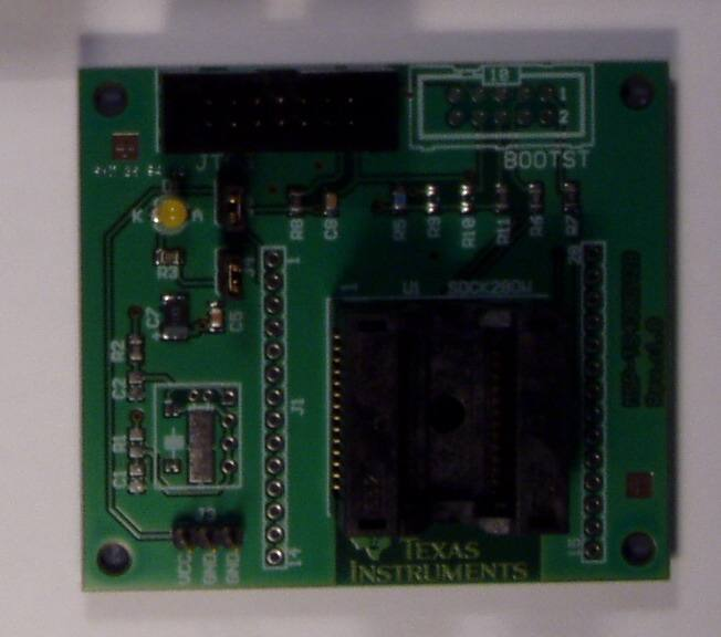 MSP-FET430U28, Texas Instruments