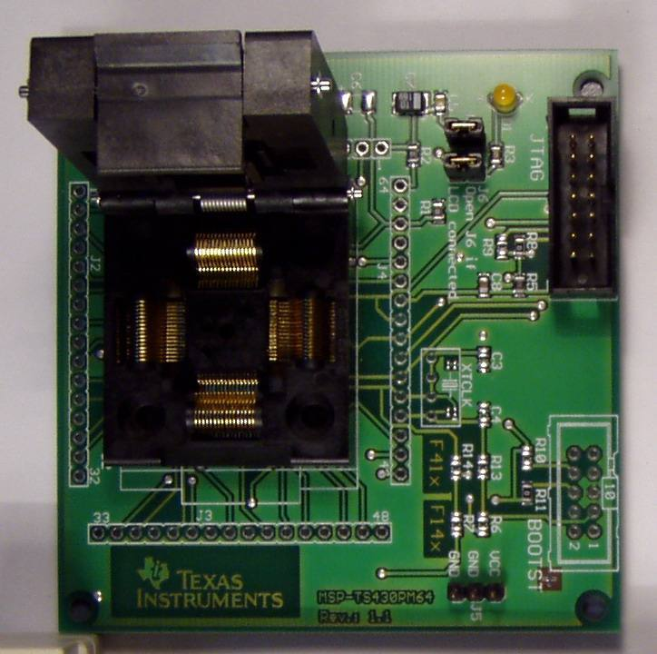 MSP-FET430U64, Texas Instruments