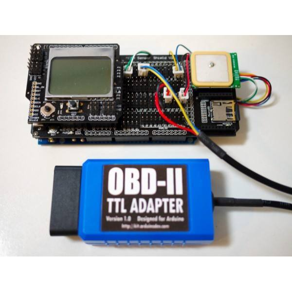 OBD II TTL Adapter for ARDUINO, DFRobot