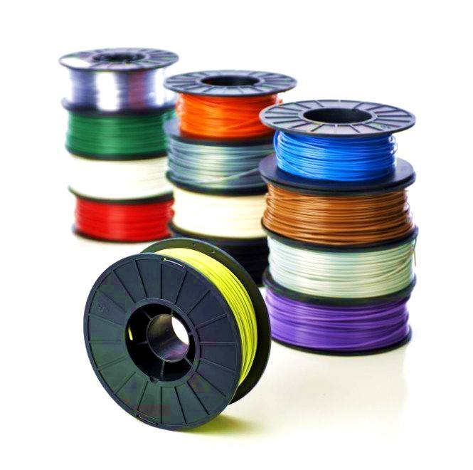 PLA plastic for 3D printer 1.75mm. 500g. [Fluorescence blue], WUHU HANBOT ELECTRONICS TECHNOLOGY LTD