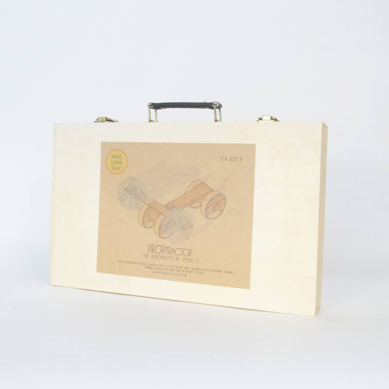 Proptractor Kit Deluxe [Wood], MAKERS TOOLBOX