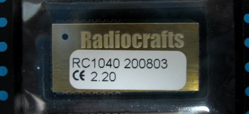 RC1040, RADIOCRAFTS AS
