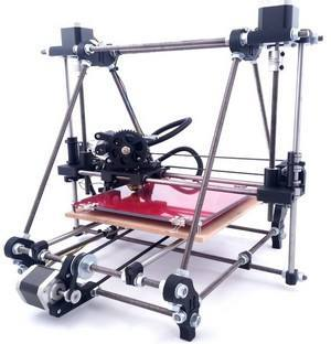 3D PRINTER HB-001 [diassembled without PCB and power supply], WUHU HANBOT ELECTRONICS TECHNOLOGY LTD