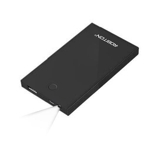 ROBITON POWER BANK LP4.5-K Soft Touch черный BL1, ROBITON
