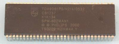 TDA9361PS/N2/4/0532, NXP SEMICONDUCTORS
