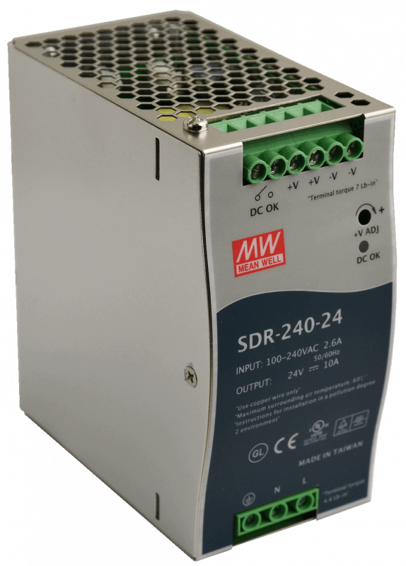 SDR-240-24, Mean Well