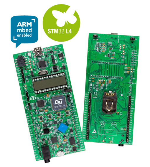 STM32L476G-DISCO, STMicroelectronics
