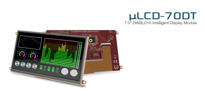 uLCD-70DT-Pi, 4D Systems