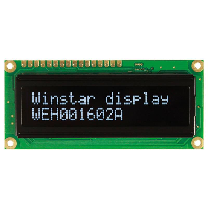 WEH001602AGPP5N00001, Winstar Display