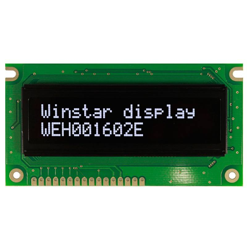 WEH001602ELPP5N00000, Winstar Display