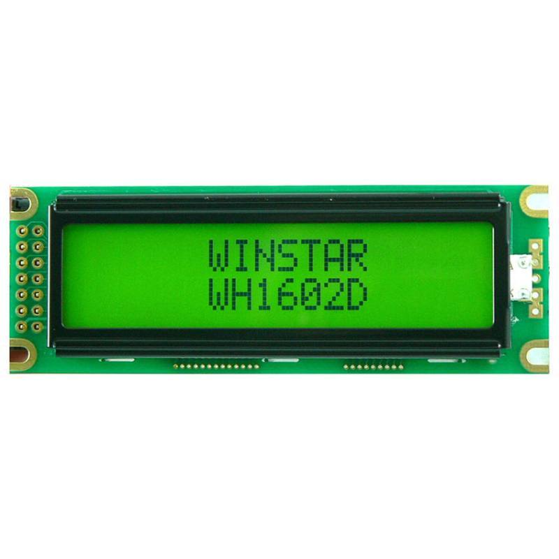 WH1602D-YGB-CTK, Winstar Display