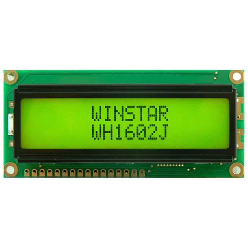 WH1602J-NBG-CT#, Winstar Display
