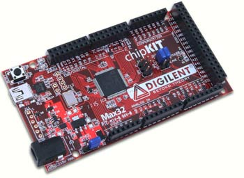 DL-chipKIT Max32 � Arduino -����������� ���������� ����� �� ���� 32-���������� MIPS ���������������� ����� Microchip PIC32MX795F512.
