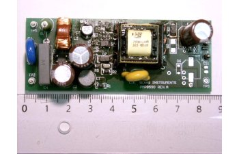 Integrated FET: Primary Side Regulated: Isolated Flyback; Universal Input to 24V@250mA Ref Design PMP8590