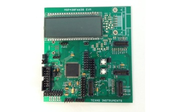 Flow Meter host MCU board with segment LCD and prepayment or dual RF option TIDM-FLOWMETER-DUALRF