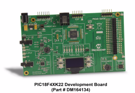 PIC18F4XK22 Development Board DM164134