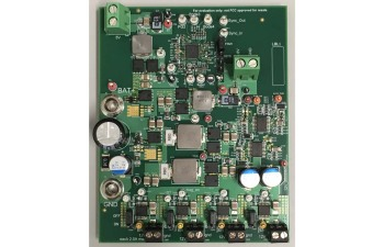 Automotive Off-battery Dual-phase Boost Converter Reference Design TIDA-01534