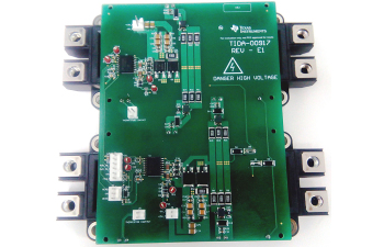 Gate Driver Reference Design for Parallel IGBTs With Short-Circuit Protection and Current Buffer TIDA-00917