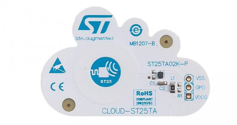 Evaluation board for ST25TA series CLOUD-ST25TA