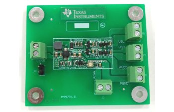 LCD Bias Power Reference Design PMP9770