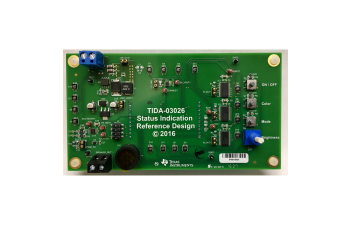 Status Indication Reference Design With LED and Audio Feedback TIDA-03026