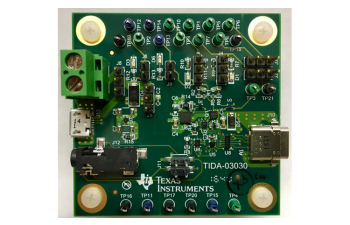 USB Type-C™ Power-Path Protection With Audio Accessory Support Reference Design TIDA-03030