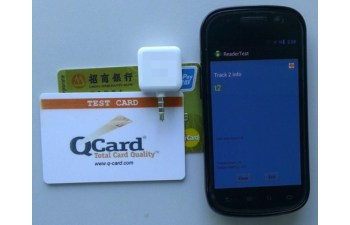 Mobile Phone Bank Card Reader TIDM-BANKCARDREADER