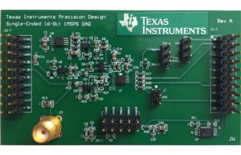 16 bit 1MSPS Data Acquisition Reference Design for Single-Ended Multiplexed Applications TIPD173