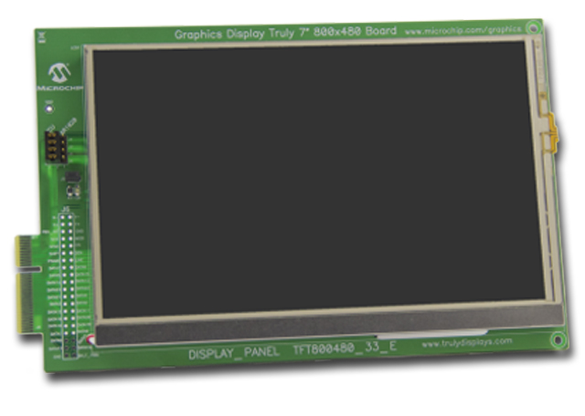 Graphics Display Truly 7 800x480 Board AC164127-9