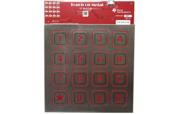 Inductive Touch Stainless Steel Keypad Reference Design for Waterproof/Noise Immune HMI Applications TIDA-01102