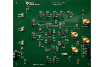 Digitally Tunable MDAC Based State Variable Filter Reference Design TIPD160